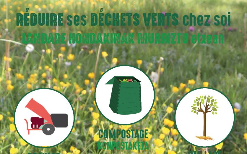 Réduire ses déchets verts chez soi