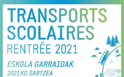Inscription transports scolaires rentrée 2021